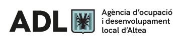 Logo del portal de la Agencia de desarrollo local de Altea